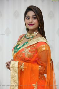 Shravani Varma at Manepally Dilsukhnagar Showroom