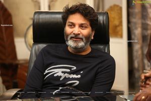 Trivikram Srinivas at Ala Vaikuntapuramlo Press Meet