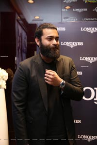Varun Tej at Longines Hydroconquest Collection Launch