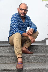 VI Anand at Disco Raja Movie Interview