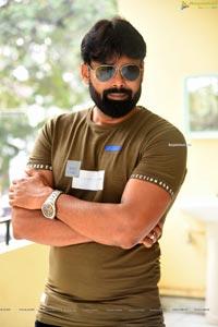 Raaj Suriyan at Naa Peru Raja Trailer Launch