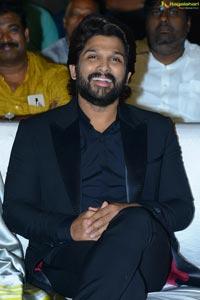 Allu Arjun at Ala Vaikunthapuramulo Success Celebrations