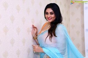 Namitha at Green Trends Salon