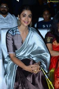 Pooja Hegde at Ala Vaikunthapuramulo Success Celebrations