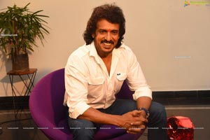 Upendra at Kabza Movie Muhurat