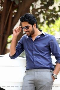Allari Naresh at Bangaru Bullodu Movie Interview