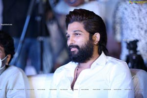 Allu Arjun at Ala Vaikunthapurramuloo Reunion Bash