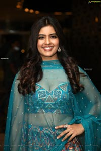 Amritha Aiyer at Red Movie Pre-Release