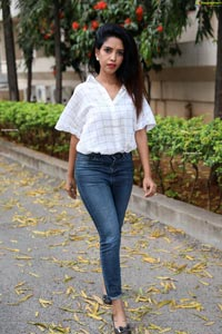 Anika Prem at Ajatha Shatruvu Web Series Teaser Launch