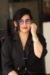 Archana Shastry at Annapurnamma Gari Manavadu Interview