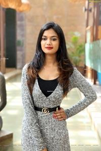 Ariyana at Beauty Conference 2021 Hyderabad Expo