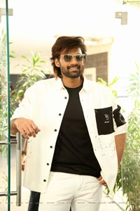 Bellamkonda Sai Sreenivas at Alludu Adhurs Movie Interview