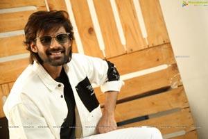 Bellamkonda Sai Sreenivas at Alludu Adhurs Movie Interview