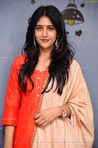 Chandini Chowdary at Sammathame Movie Opening