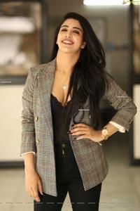 Daksha Nagarkar at Zombie Reddy Movie Interview