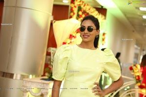 Kamakshi Bhaskarla In Pastel Yellow Dress