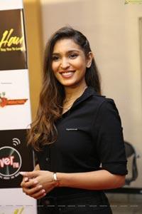 Jahnavi Dhanrajgir at Bolo Hau Movie Press Meet