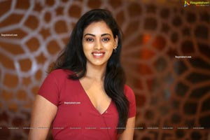 Kamakshi Bhaskarla In Maroon Frill Dress
