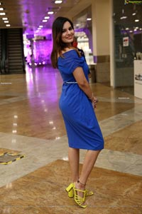 Karnica Karda in Royal Blue Dress
