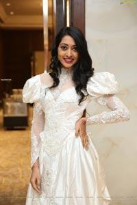 Lakshmi Ayalasomayajula In White Dress at Me Women Fashion