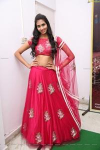 Laya Jupally at Sutraa A Festive Special Curtain Raiser