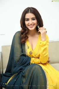 Malvika Sharma at Red Movie Interview