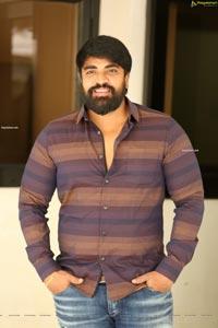Mangam Srinivas at Pranavam Movie Press Meet