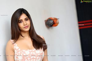 Nabha Natesh at Alludu Adhurs Movie Interview