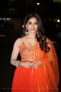 Nabha Natesh at Alludu Adhurs Movie Success Meet