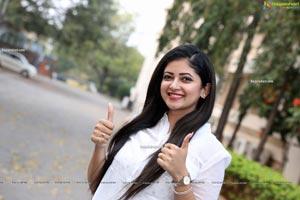 Pallavi Gowda at Ajatha Shatruvu Web Series Teaser Launch