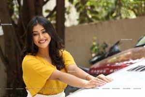 Pooja Jhaveri at Bangaru Bullodu Movie Interview