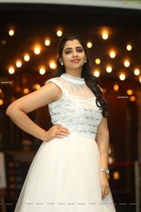 Anchor Shyamala at Krack Movie Trailer Launch