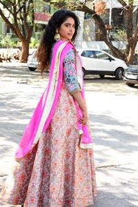 Sonakshi Verma at Kalasa Movie Opening