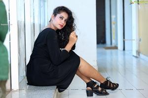 VJ Chandana at Beauty Conference 2021 Hyderabad Press Meet