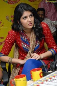 Deeksha Seth at Radio Mirchi for UKUP Promotions