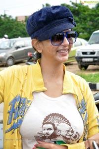 Lakshmi Prasanna at Red FM Save the Hussain Sagar Lake