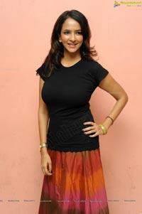 Lakshmi Prasanna posing in Skirt Photos