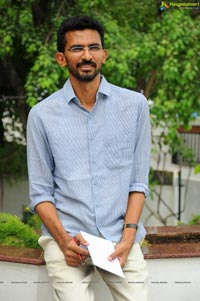 Sekhar Kammula on the sets of Life is Beautiful
