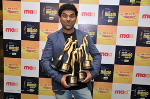Devi Sri Prasad at Music Mirchi Awards 2012