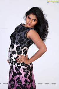 Tanusha Swathi in Designer Dress