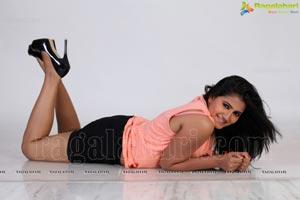Tanusha Swathi in Hot Pink Dress