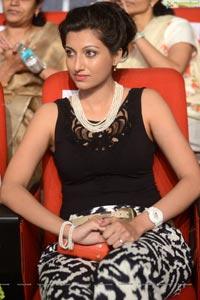 Hamsa Nandini at Attharintiki Daaredhi Audio