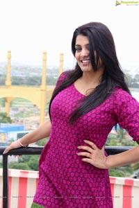 Tashu Kaushik in Pink Dress