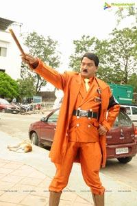 Rajendra Prasad in Hitler Getup