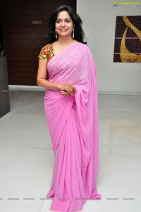 Singer Sunitha in Saree