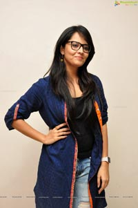 Anchor Anasuya in Torn Jeans