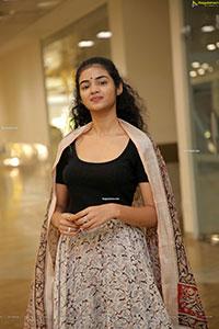 Akshhatha Kotapati in Kalamkari Print Skirt