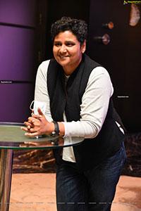Nandini Reddy at Kudi Yedamaithe Movie Trailer Launch