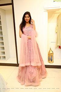 Naziya Khan in Pink Embellished Dress
