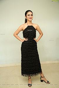 Priya Prakash Varrier at ISHQ Pre Release Press Meet